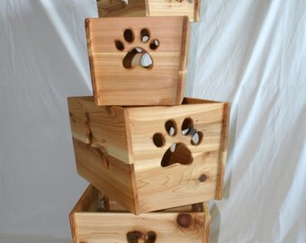 Hand Made Cedar Toy Boxes - Extra Large