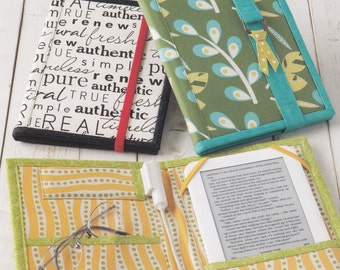 Atkinson Designs Reader Wrap Sewing Pattern - Accessories Sewing Pattern - Uncut Sewing Pattern - Craft Pattern