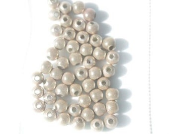 50 beads Magic 4mm - beige