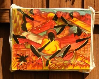 Jamaican Street Painting 12x16