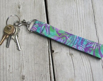 Tropical Punch Lanyard Key Fob