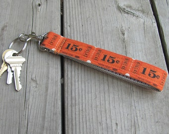 Lucky Number Key Fob
