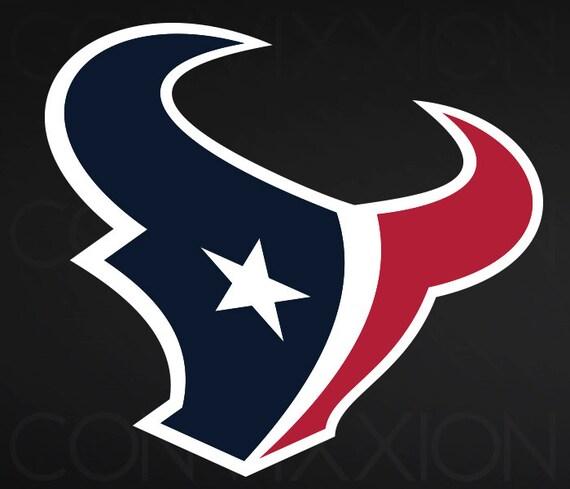 Houston Texans: 2 Houston Texans Football SVG File Logo For By