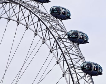 Digital Download of a Photograph of the Iconic London Eye