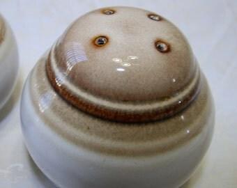 vintage Noritake stoneware salt and pepper shaker set