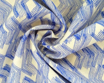 Limestone Feel Indigo Premium Cotton Voile