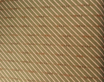 Moda 2127 14. Green and brown in diagonal stripes