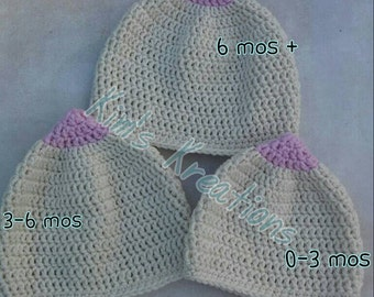 Boobie beanie, boobie hat, breastfeeding cap, Baby shower gift, boob beanie, boob hat, nursing hat, nursing beanie, Gift for new mom