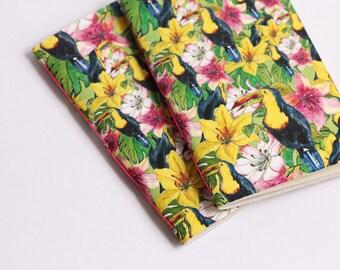 Toucan Tropical Notebook -journal, sketchbook-