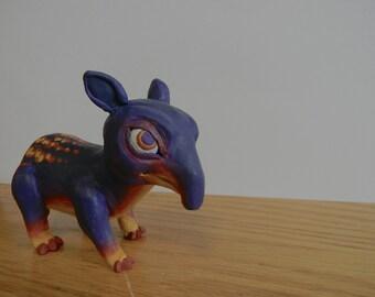 Colorful Tapir Sculpture / Figure