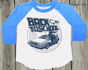Back to school Outfit. First day of school for boys. First day of kindergarden. Summer trends. Preschool Shirt. Back to the future 1st grade