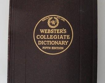 merriam webster new collegiate dictionary