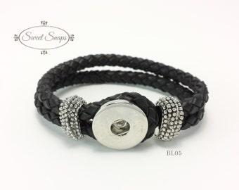 Leather braided Bracelet (BL05)