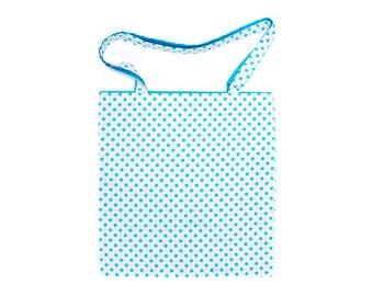Tote Bag - Blue Spots