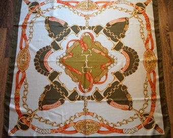 Vintage CODELLO Printed Silk Scarf