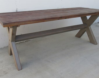 Table, Dining Table, Reclaimed Wood, Rustic, Handmade