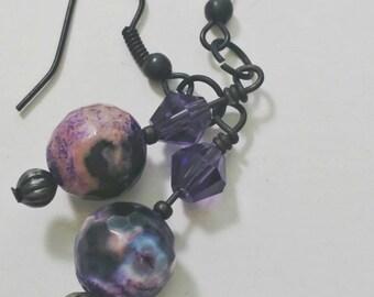Purple Bliss Earrings