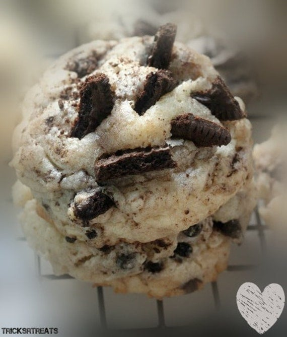 Oreo Cheesecake Cookies, Fresh Baked, Homemade Cookies
