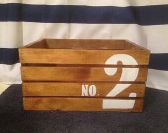 Nautical NO. 2 Crate