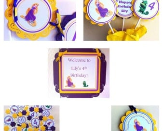 Rapunzel Party Package