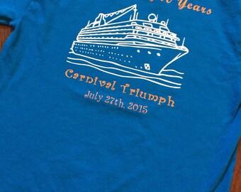 Family Cruise Personalized Shirt