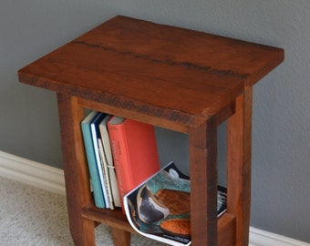 Side table made from Hard Cherry