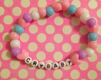 Handmade Crybaby Beaded Bracelet