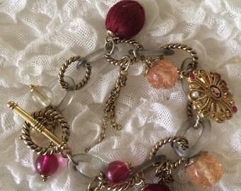 80's Style Bauble Bracelet