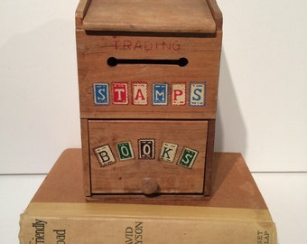 "Vintage ""Trading Stamp Book"" Box"