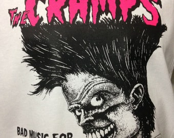 CRAMPS BAD MUSIC Shirt