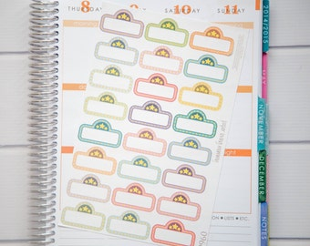 24 Movie Night Stickers | Planner Stickers designed for use with the Erin Condren Life Planner | 0966
