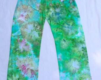 Large Tie Dye Yoga Pants