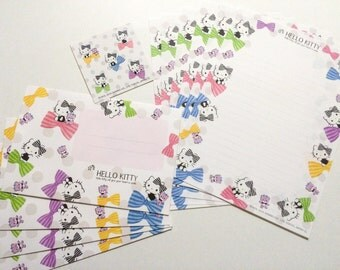 Hello Kitty Letter Set - Colorful Bows