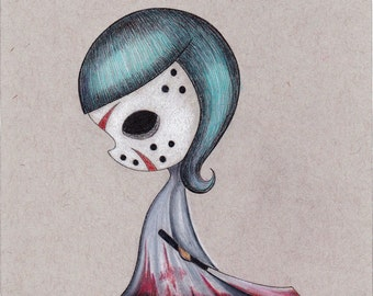 Friday the 13th - Limited edition Fine art giclee print