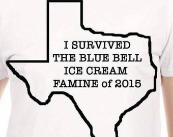 I survived the Blue Bell famine of 2015  Pick your state!