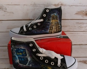 Hand painted Dr.Who