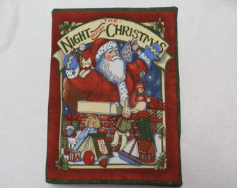 Night Before Christmas Cloth Book