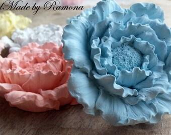 Fragrant flowers 6 pieces 10 petunias, chalks, 5 x 6x5 wedding favors, Placecard holders, wedding, birthday
