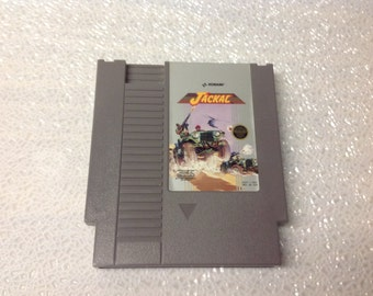 NES Jackal Game Cartridge-Used