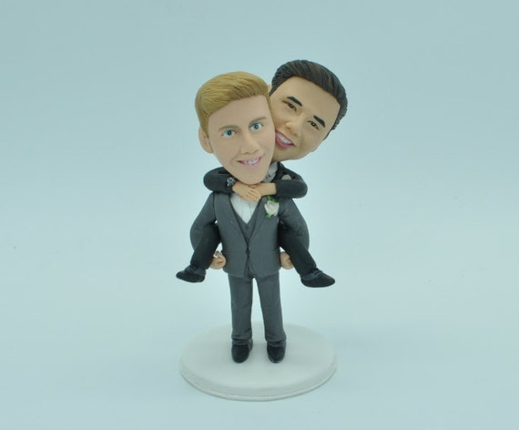 gay wedding cake topper wedding toppers same cake topper2 by 4456