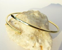 Arm Band Bracelet, Hammered Brass Armlet, Metalwork jewerly, Ancient Greek, Uper Arm Cuff