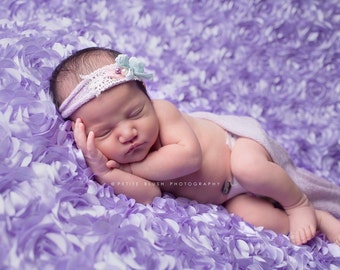 Lavender Wrap and Headband Set