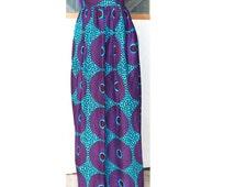 Ankara Maxi Skirt, Made to Order Skirt, African Clothing, Summer Maxi Skirt, African Print Skirt, Long Maxi Skirt, African Wax
