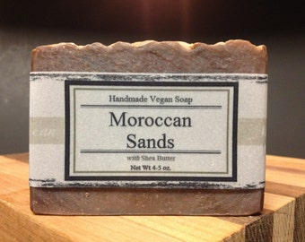Moroccan Sands Handmade Vegan Soap 5 oz.