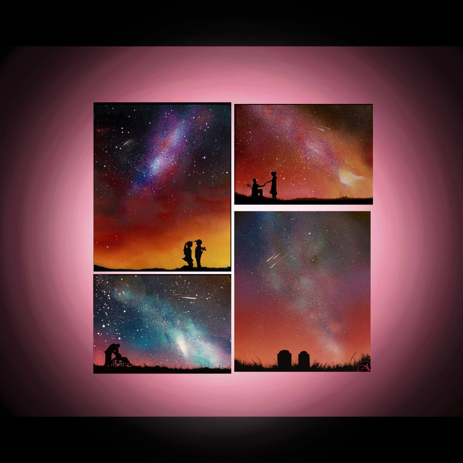 Paintings On Canvas Spray Paint Art Personalized By Kanoelaniart