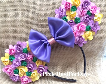Rapunzel Inspired Mouse Ears, tangled inspired mouse ears