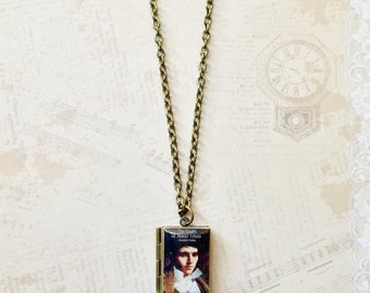 The Count of Monte Cristo by Alexander Dumas Book Necklace/Literary Necklace/Book Locket Necklace/Bookmark/Keyholder/Bag Charm/Bracelet