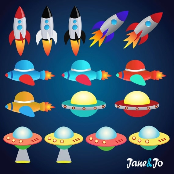 42 Space clipart , Outer Space Clipart , Astronauts ...