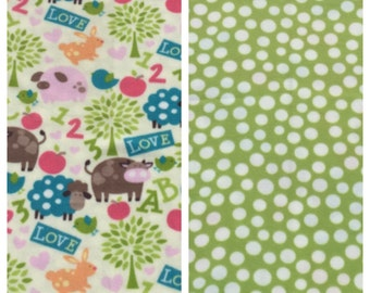 Fleece baby blanket B7