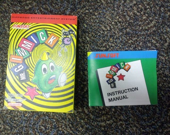Mr Gimmick box and manual